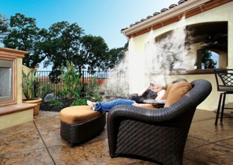 Los sistema de nebulizacion son ideales para instalarlos for Nebulizadores para terrazas de bares