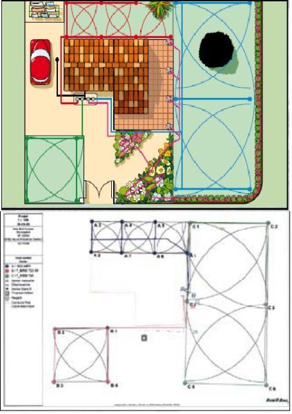 Guia b sica para dise ar un sistema de riego ris iberia for Instalacion riego automatico jardin